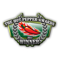 The 2011 Hot Pepper Awards 2nd Place Unique Category