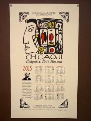 The 2013 Chicaoji Calendar