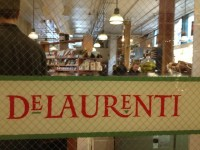 DeLaurenti's Market and Deli provides gourmet food near the entrance to Seattle's famous Pike Place Market