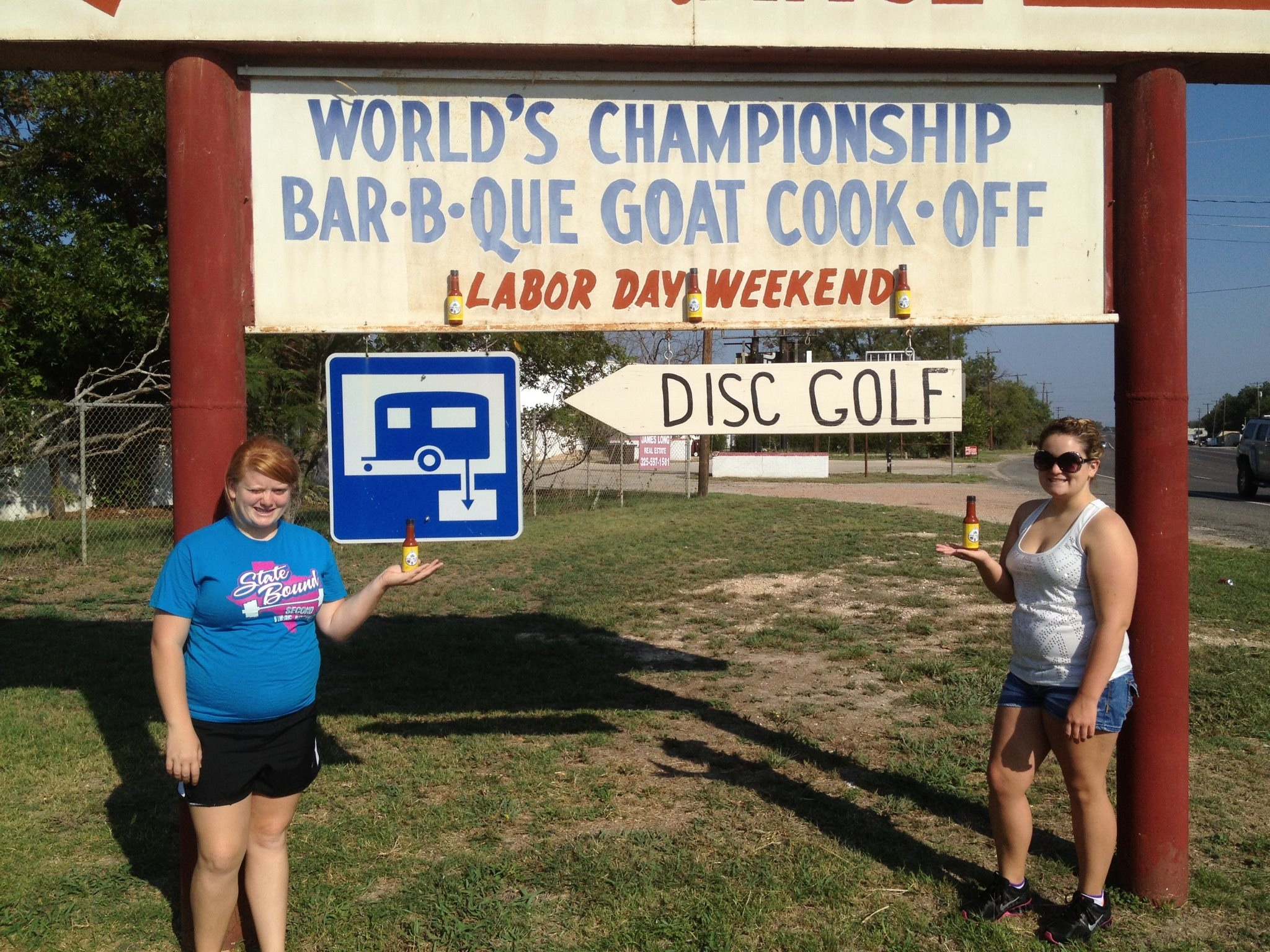 Brady, TX Goat BBQ Cookoff