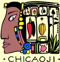 Chicaoji logo made by Lopez Island artist Brenna Nies.